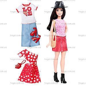Кукла Barbie «Модница» с одеждой, обновленная, DTD96, магазин игрушек