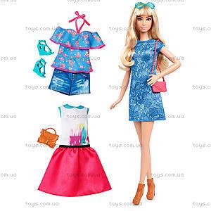 Кукла Barbie «Модница» с одеждой, обновленная, DTD96, toys.com.ua