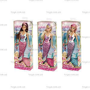 Кукла Барби Русалка серии «Миксуй и комбинируй», CBV45, купить
