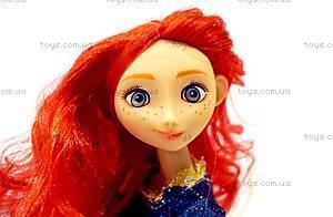Кукла Beatrice «Мерида» из м/ф «Храбрая сердцем», BC3126-Merida, детские игрушки