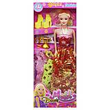 """Кукла """"Beauty Model"""" красный, 5533A-4"""