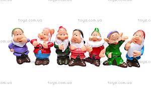 Кукла Белоснежка с гномами, GD38, купить