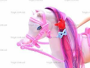 Кукла «Белоснежка» с лошадью, GD084, купить