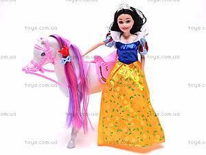 Кукла «Белоснежка» с лошадью, GD084
