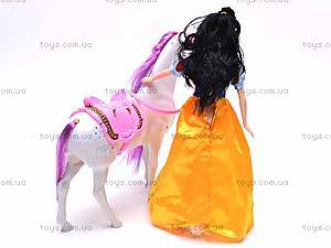 Кукла «Белоснежка» с лошадью, GD084, фото