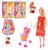 Кукла беременная с коляской и аксессуарами, 88076-1, фото