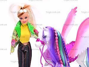 Кукла Bettina с лошадью, 66425, купить