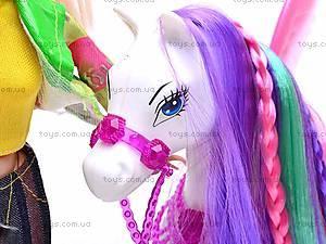 Кукла Bettina с лошадью, 66425, фото