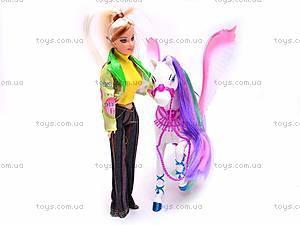 Кукла Bettina с лошадью, 66425, отзывы