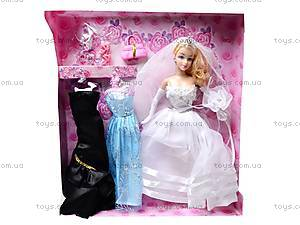 Кукла Betty, в свадебном платье, 840A, игрушки