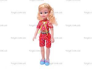 Кукла большая, с расческой, K18-1