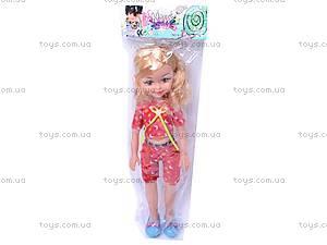 Кукла большая, с расческой, K18-1, фото