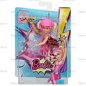 Кукла Челси с самокатом из мультфильма «Barbie Суперпринцесса», CDY68, фото