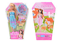 Кукла DEFA с питомцем, 3 вида, 8073, игрушка