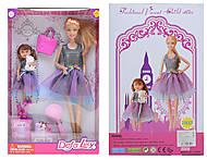 Игрушечная кукла с девочкой и аксессуарами, 8304, фото