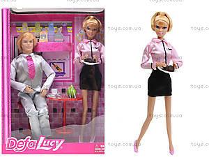 Кукла DEFA «Официантка с посетителем», 8229