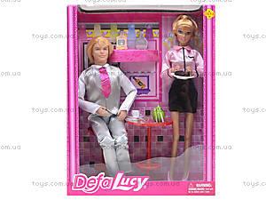 Кукла DEFA «Официантка с посетителем», 8229, отзывы
