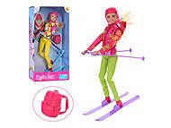 Кукла DEFA с лыжными аксессуарами, 8373, набор