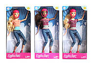 Кукла DEFA на скейте, 8375, интернет магазин22 игрушки Украина