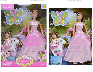 Кукла Defa Lucy «Принцесса с девочкой», 8077