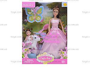 Кукла Defa Lucy «Принцесса с девочкой», 8077, фото