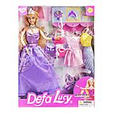 Кукла Defa Lucy, в фиолетовом платье, 8269, фото