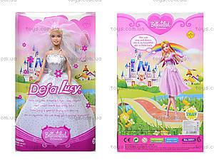 Детская кукла Defa Lucy «Невеста», 6091