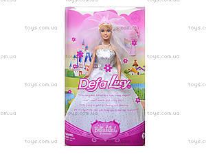 Детская кукла Defa Lucy «Невеста», 6091, фото
