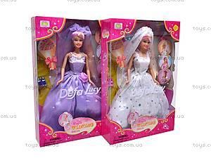 Кукла Defa Lucy «Невеста», 6003, цена
