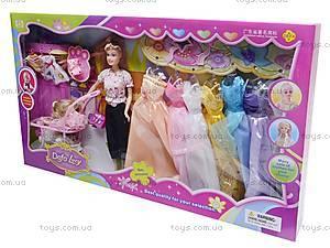 Кукла Defa Lucy с гардеробом, 8035