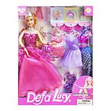 """Кукла """"Defa Lucy"""", с нарядами, в розовом, 8269, фото"""