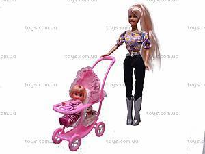 Кукла Defa Lucy с питомцем и коляской, 20958