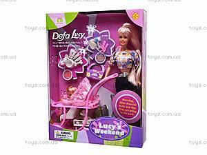 Кукла Defa Lucy с питомцем и коляской, 20958, цена