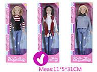 Кукла «Defa Lucy» с шарфиком, 8366, фото