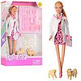 """Кукла """"Defa Lucy: Ветеринар"""" с животными, 8346A"""