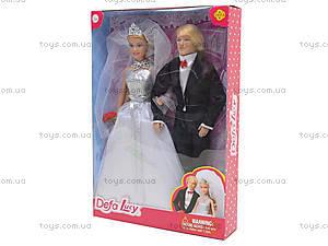 Детская кукла DEFA «Невеста с женихом», 8305, фото