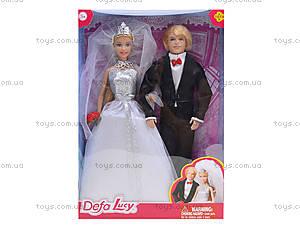 Детская кукла DEFA «Невеста с женихом», 8305, отзывы