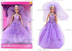 Кукла Defa «Невеста» с подставкой, 8253