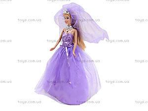 Кукла Defa «Невеста» с подставкой, 8253, отзывы