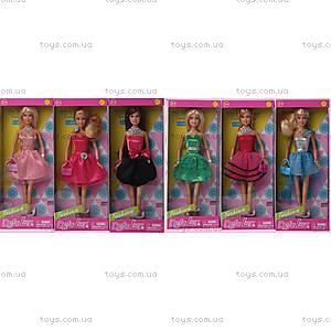 Кукла DEFA «Особый вечер», 6 видов, 8272, игрушки