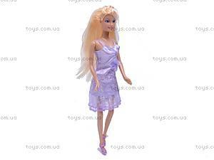 Кукла Defa, с гардеробом, 6077, купить