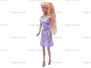 Кукла Defa, с гардеробом, 6077, фото