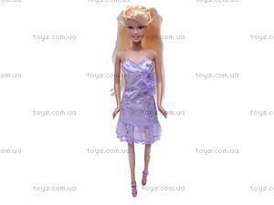 Кукла Defa, с гардеробом, 6077