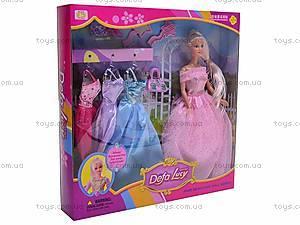 Кукла Defa с гардеробом, 8019, купить