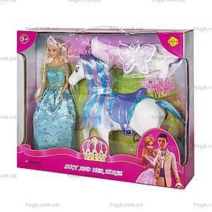 Кукла Defa с лошадью, 8209