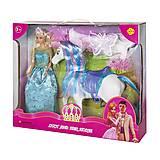 Кукла Defa с лошадью, 8209, купити