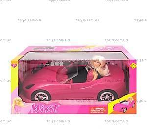 Кукла Defa с розовой машиной, 8228