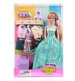 Кукла Defa с нарядами и аксессуарами, 8012