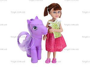 Маленькая кукла Defa «Девочка с пони», 8303, купить