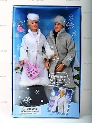 Кукла Defa с семьей «Зима», 20989